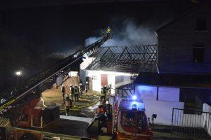 Dachstuhlbrand 10.03.2016