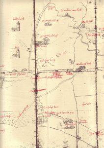Karte von 1570